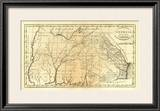 State of Georgia, c.1795 Framed Giclee Print by Mathew Carey