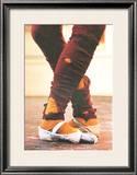 Leg Warmers Limited Edition Framed Print by Harvey Edwards