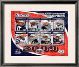 2009 New England Patriots AFC East Divison Champions Framed Photographic Print