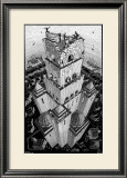 Tower of Babel Poster by M. C. Escher