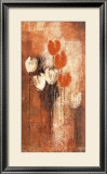 Red and White Tulips I Prints by Anne Helm