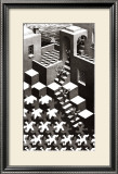 Cycle Prints by M. C. Escher
