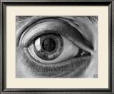 Eye Prints by M. C. Escher