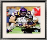 Jared Allen Framed Photographic Print
