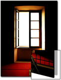 Open Window in Darkened Room Prints by Claire Morgan