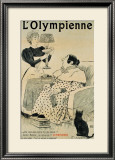 L'Olympienne Framed Giclee Print by E. Le Mouel