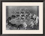 Encounter Art by M. C. Escher