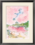 Pink Opera-Opera Rose Limited Edition Framed Print by Marc Chagall