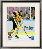 Zdeno Chara 2010 NHL Winter Classic Framed Photographic Print