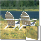 Adirondack Chairs, Puget Island, Wahkiakum County, Washington Posters by Deon Reynolds