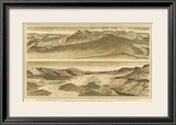 Grand Canyon: Looking up the Toroweap from Vulcan's Throne, c.1882 Framed Giclee Print by William Henry Holmes