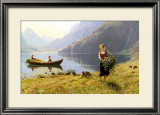 Norweigian Viking Fjord Western Norway Prints by Hans Andreas Dahl
