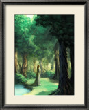 Girl in the Forest Framed Giclee Print by Kyo Nakayama