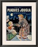 Plaques Jougla Framed Giclee Print by Eugene Oge
