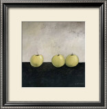 Green Apples Posters by Anouska Vaskebova