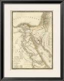 Egypte Ancienne, Palestine, Arabie Petree, c.1822 Framed Giclee Print by Adrien Hubert Brue