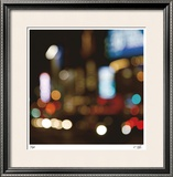 Espresso Lights III Limited Edition Framed Print by Eva Mueller