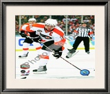 Mike Richards 2010 NHL Winter Classic Framed Photographic Print