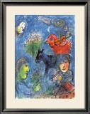 El verano Lámina por Marc Chagall