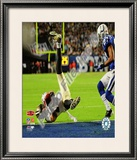 Lance Moore Super Bowl XLIV Framed Photographic Print
