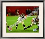 Drew Brees Super Bowl XLIV Framed Photographic Print