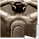 Corridor Imprint on Male Back Posters by Abdul Kadir Audah