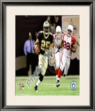Reggie Bush 2010 Playoff Framed Photographic Print