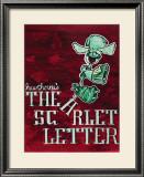 Scarlet Letter Posters by Ryan Mckowen