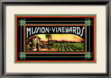 Mission Vineyard Framed Giclee Print