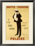 Polaire Framed Giclee Print by Leonetto Cappiello