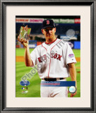 J.D. Drew 2008 All-Star Game Framed Photographic Print