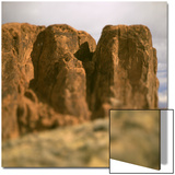 Side of Red Canyon Print by Deon Reynolds