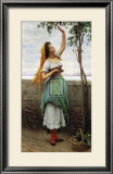 Picking Grapes Print by Eugene de Blaas