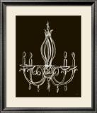 Elegant Chandelier IV Posters by Ethan Harper