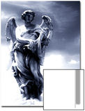 Angel Statue in the Clouds Prints by Abdul Kadir Audah
