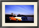 1956 Chevy Bel Air Framed Giclee Print by Jerry Koontz