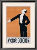 Victor Boucher Framed Giclee Print by  Sem