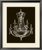 Elegant Chandelier III Prints by Ethan Harper