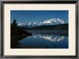 Mt. McKinnley, Wonderlake, Alaska Framed Giclee Print by Charles Glover