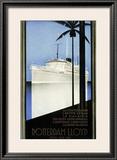 Rotterdam Lloyd Framed Giclee Print by Johann Von Stein