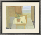 Still Life on a Cream Cloth Print by John Taylor