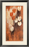 Red and White Tulips II Posters by Anne Helm