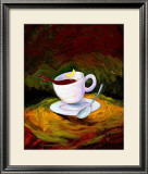 Dancing Java Framed Giclee Print by Nobu Haihara