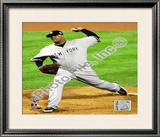 C.C. Sabathia Game Four of the 2009 MLB World Series Framed Photographic Print