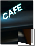 Neon Cafe Sign Prints by Antonino Barbagallo