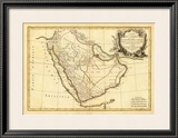 Arabie, c.1785 Framed Giclee Print by Rigobert Bonne