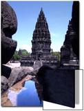 Temples in Prambanan, Indonesia Poster by Abdul Kadir Audah