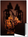 Javanese Shadow Puppets Láminas por Abdul Kadir Audah