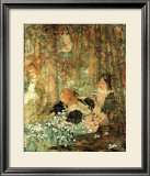 Coming of Spring Print by Edward Atkinson Hornel
