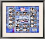 2009 New York Yankees World Series Champions Framed Photographic Print